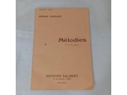 Henri Duparc - Mélodies