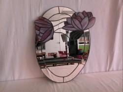 Miroir de décoration vitrail