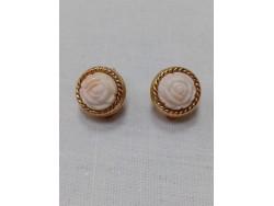 Boucles d'oreilles Rossi. Vintage