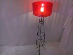 lampe Tri-Fer Orangée