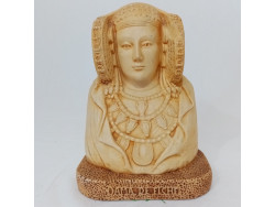 Buste espagnol Dame d'Elche
