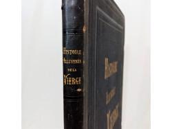Livre Ancien Histoire ilustrée de la Vierge 1866